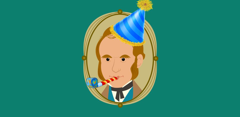 С Днём Рождения, Чарли Дарвин!