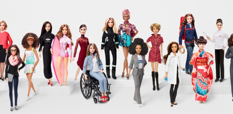 Mattel выпустила коллекцию Барби в образах выдающихся женщин мира
