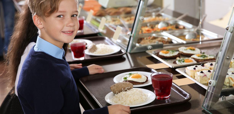 Путин предложил закупать местные продукты для горячего питания в школах